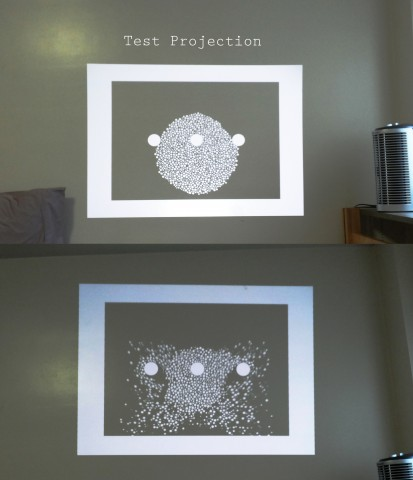 test projection