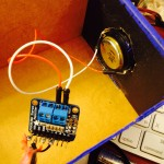Tiny amplifier and speaker