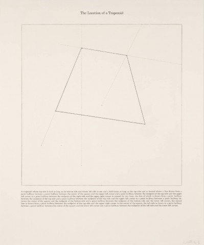 [no title] 1975 by Sol LeWitt 1928-2007
