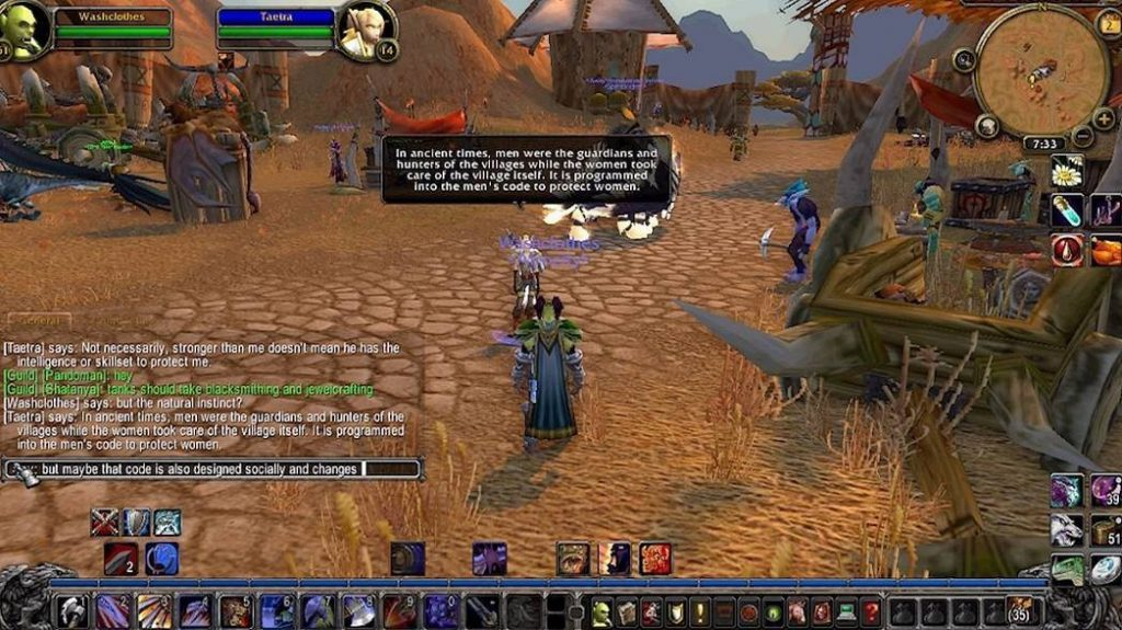 The Council on Gender Sensitivity and Behavioral Awareness in World of Warcraft by Angelo Washko