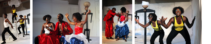 Theater of Small Lanterns production in Haiti
